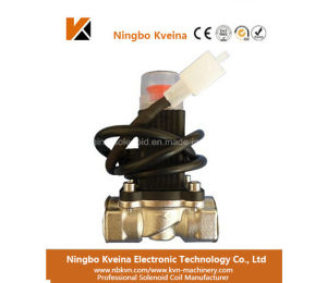 Kveina Standard Shut off Gas Valve in Emergency 1 Inch Electrical Control Valve pictures & photos