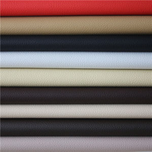 Microfiber Suede Leather Fabric for Furniture, Car Seat Cover (HS029#) pictures & photos