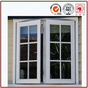 Aluminium Frame Casement Window with Grid Design pictures & photos
