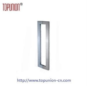 Stainless Steel 304 Square Glass Door Pull Handle (pH012) pictures & photos