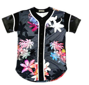 New Mesh Throwback Custom Design Baseball Shirt Baseball Jersey Wholesale