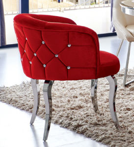 High Quality Fabric Cover Dining Chair for Home Furniture pictures & photos