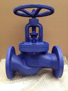 EN1092 flanged pn16 GG25 cast iron globe valves pictures & photos