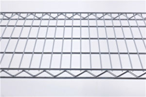 NSF Chrome Steel Wire Retail Shelf Rack Factory pictures & photos