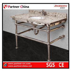 Stainless Steel Sink Vanity Base (10-104) pictures & photos