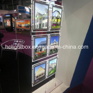LED Lighted Crystal Frame Real Estate Display pictures & photos