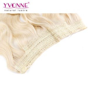 Blonde Flip in Human Hair Extensions pictures & photos