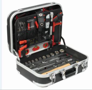 Professional Household Quality Tool Set, Germany Kraftwelle Tool Set, Tools Set in ABS Case pictures & photos
