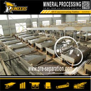 Stannum Ore Processing Gravity Separation Shaking Table Tin Mining Machine