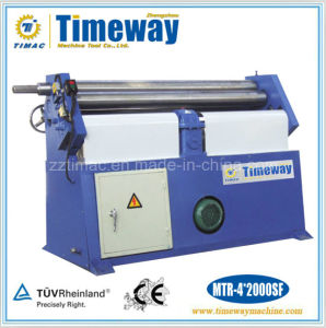 Manual or Mechanical or Hydraulic Three Roller Asymmetrical Steel Metal Plate Rolling Machine pictures & photos