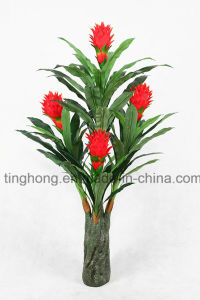 Home Decoration Artificial Plants with 5 Flowers and 69 Leaves