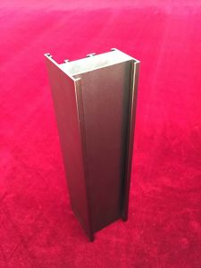Mat Anodizing Champagne Aluminium Profiles (GYAD-002) pictures & photos
