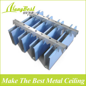 Decorative Aluminum Linear Baffle Ceiling pictures & photos