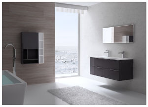 Simple Good Quality Design Bathroom Vanity Cabinet Manufacture pictures & photos
