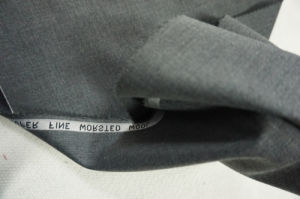 Wool Fabric with Viscose Grey Style pictures & photos