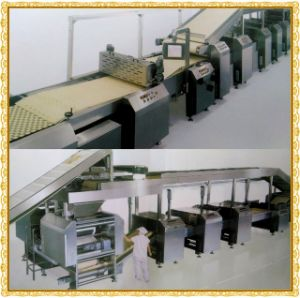 Full Set New Design Gas Sandwich Biscuit Production Line pictures & photos
