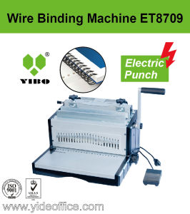 A3 Size Electrical P2: 1 Wire Binding Machine (ET8709) pictures & photos