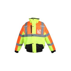 Men′s Hi Vis Reflective Safety Waterproof Jacket