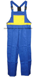 Combined Colour Working Bib Pants 008 pictures & photos