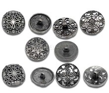 Handmade 23mm-28mm Button Sewing Alloy Button Sewing pictures & photos