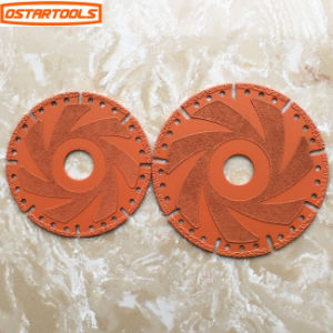 Brazed Diamond Circular Saw Blade Diamond Cutting Grinding Wheels Blade pictures & photos