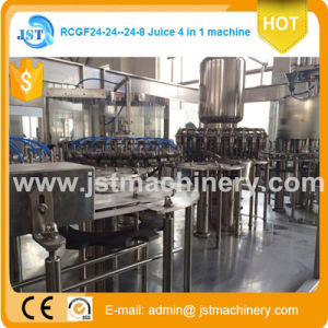 Automatic Hot Production Line Fruit Juice Filling Machine pictures & photos