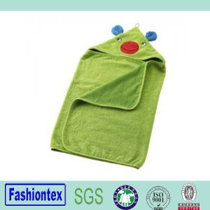 Soft Cotton Baby Hooded Towel pictures & photos