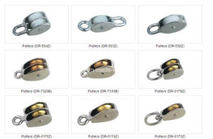 Double Wheel Pulley & Znic Alloy Pulley pictures & photos