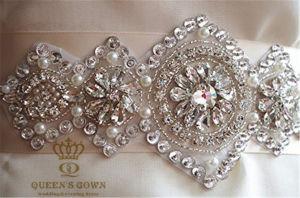 Fashion Accessories Wedding Dress Rhinestone Belt, Factory Direct