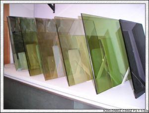 3-12mm Green, Blue, Bronze, Pink, Clear Coated Glass Reflective Glass pictures & photos