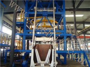 Sh110-5t/H Shaft Melting Aluminum Furnace pictures & photos
