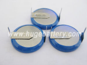 3.6V Lithium Rechargeable Button Cell Battery Lir2032 pictures & photos