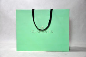 Fashion Printed Customized Art Shopping Gift Paper Bag (MECO126) pictures & photos