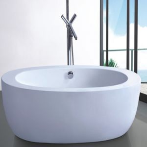 Modern Style Freestanding Acrylic Bathtub (609) pictures & photos