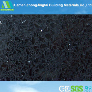 Factory Price Black Composite Stone Quartz Countertops (ZJT-F3013) pictures & photos