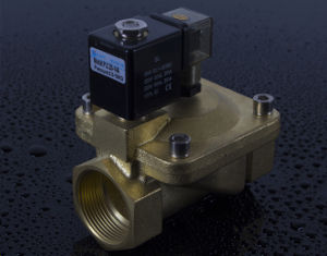 PU225-14A Magnetic Water Normally Closed Solenoid Valve pictures & photos