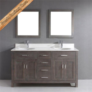 Fed-1952 Sanitaryware Vanity Solid Wood Bathroom Vanity Home Furniture pictures & photos