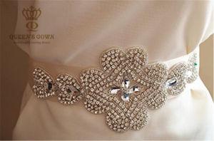 Bride Wedding Dress Rhinestone Belt, DIY Accessories, Factory Direct