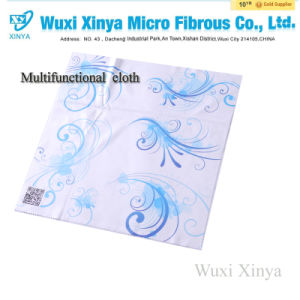 2015 Hot Selling Microfiber Eyeglasses Cleaning Cloth&Silk Screen Printing Lens pictures & photos
