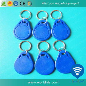 Hot Sale Waterproof ABS/Silicone Tk4100 RFID Keyfob pictures & photos