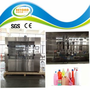 Full Automatic Detergent/Chemical Liquid Filling Machine pictures & photos