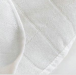 Checked Bamboo Muslin Fabric, Double Layer for Swaddle/Diaper pictures & photos