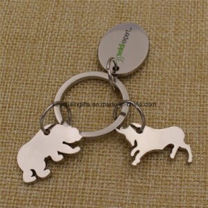 Promotion Gifts Custom Metal Custom Shape Keychain pictures & photos