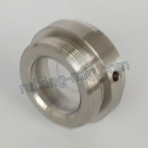 CNC Turning Metal Head Aluminum Parts with Polishing pictures & photos