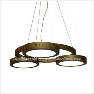 Very Popular & Practical Round LED Pendant Lamp Lighting in Bronze Color pictures & photos