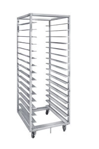 Stainless Steel 15 Layer 30 Pans Bread Baking Tray Rack Trolley with Wheels pictures & photos