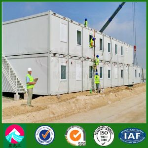Sudan Wokers Living Container Home with Office Building (XGZ-PCH 005) pictures & photos