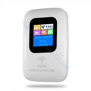 Mini Mobile Modem 4G Router for Straight Inserted SIM Card 4G WiFi Router pictures & photos