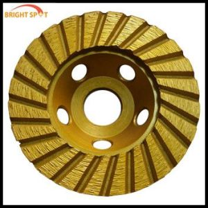 Diamond Straight Teeth Turbo Type Cup Wheel pictures & photos