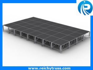Aluminum Stage, Concert Stage, Glass Platform Stage pictures & photos